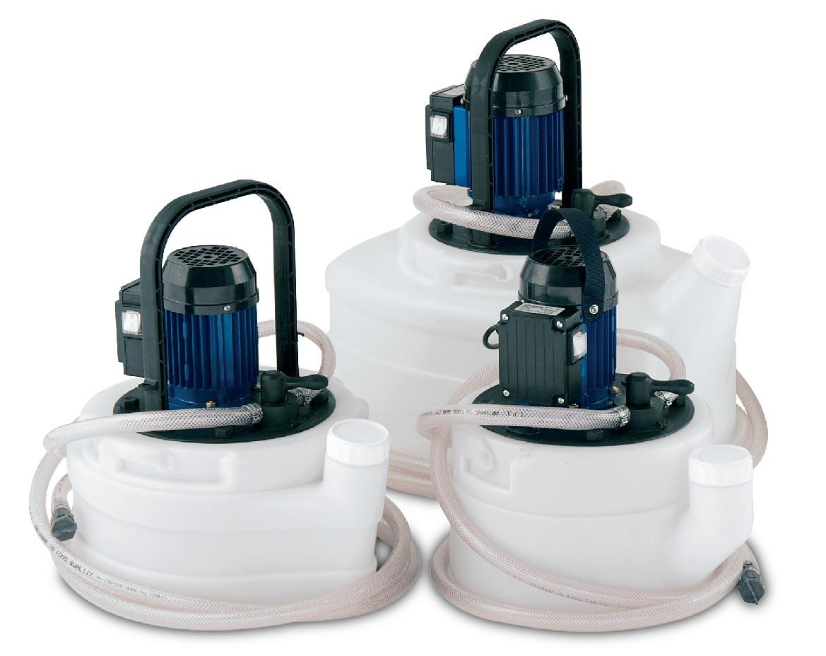Насосы для промывки теплообменников, котлов и системы отопления
